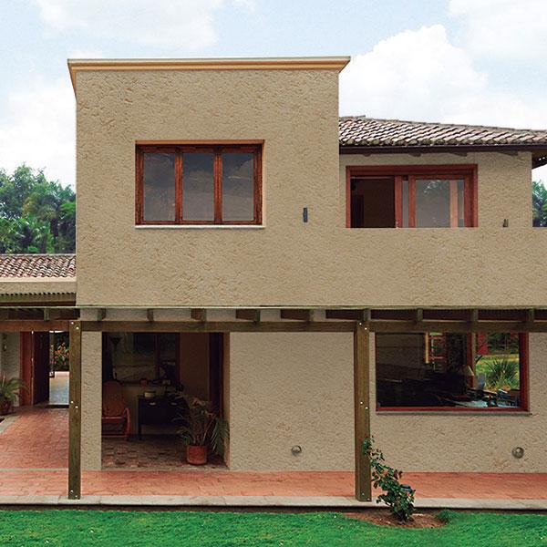 Simulador de fachadas comex colores vibrantes para tu for Simulador de casas